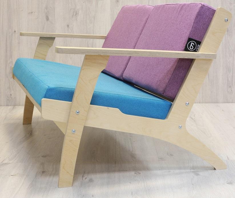 Бескаркасная мебель Диван из фанеры Нans