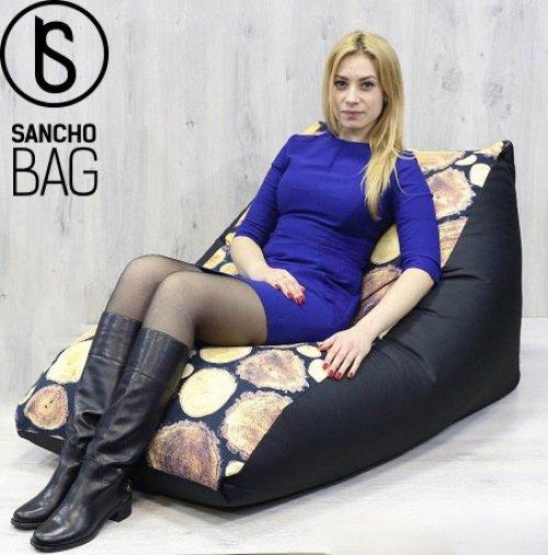 Бескаркасная мебель Кресло мешок Пюре