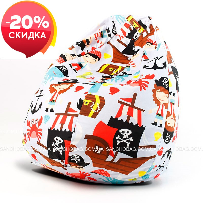 Кресло-Груша Пираты (S) 1 шт