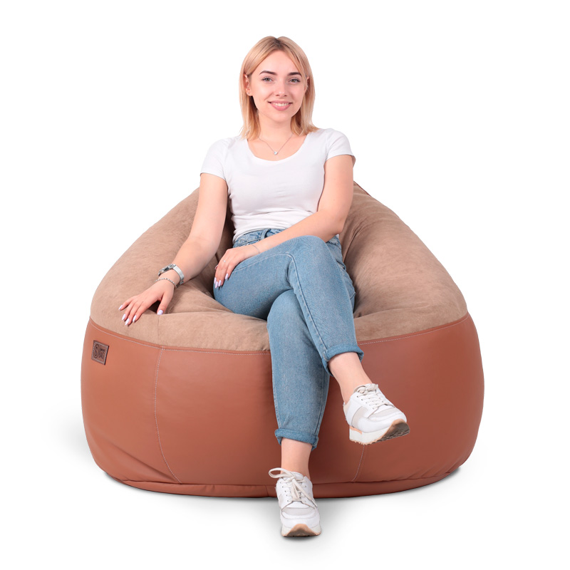 Кресло комфорт Cocoa/Caramel