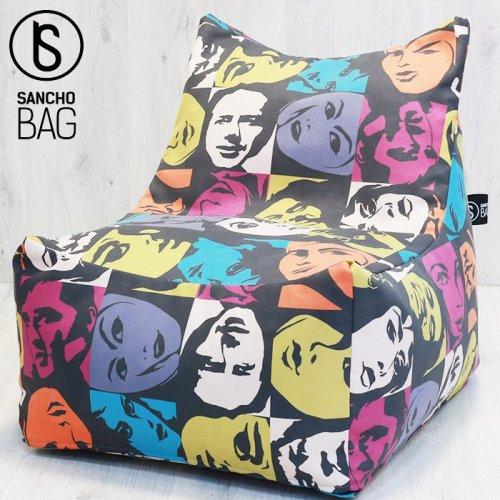 Кресло-мешок Vespa print
