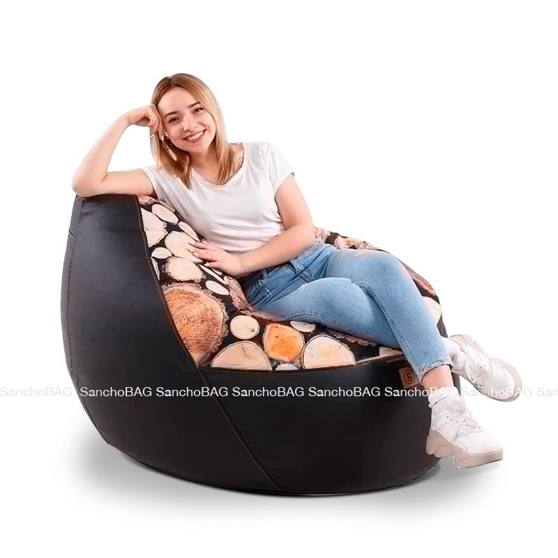 Кресло комфорт Wood |Продано