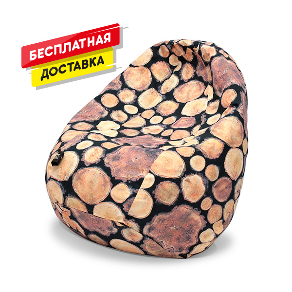 Кресло-Груша Принт Одесса