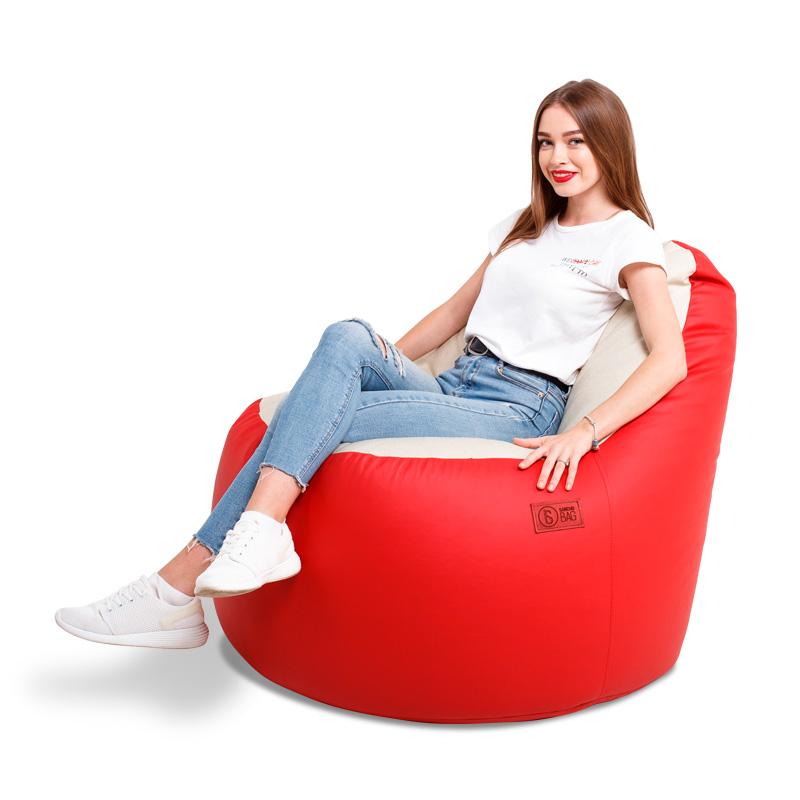 Кресло-мешок Ibiza Simple Red