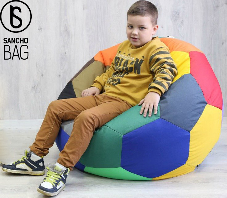 Бескаркасная мебель Кресло Мяч шапито 90 см