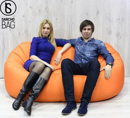 Аренда бескаркасной мебели: размер имеет значение