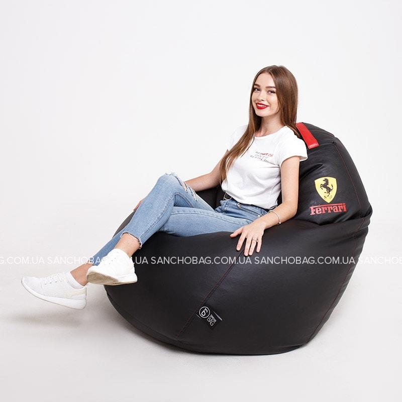 Кресло-груша Ferrari Black