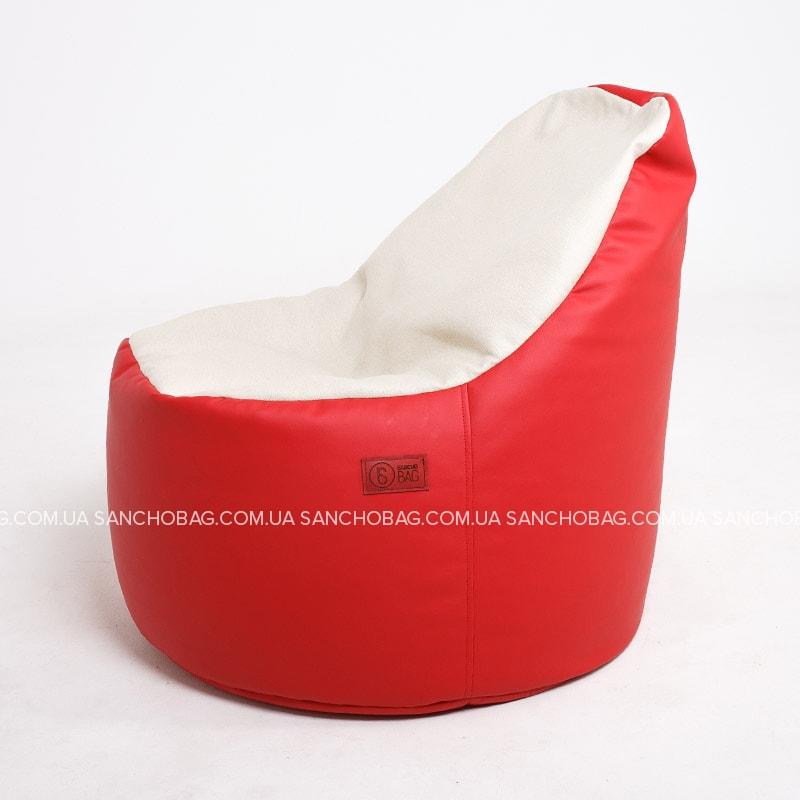 Кресло-мешок Пенек Red-White