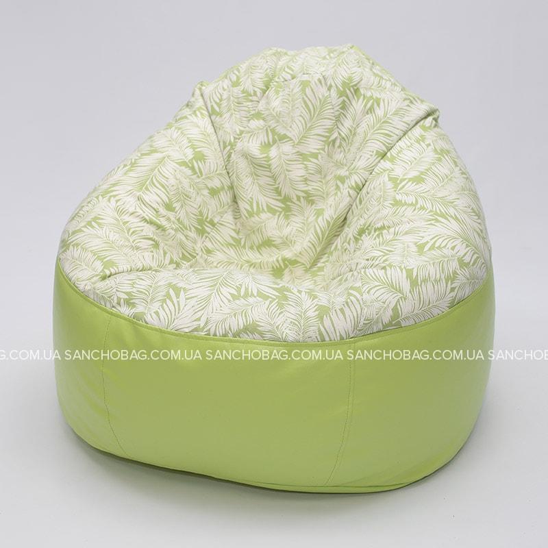 Кресло комфорт Green/Leaf