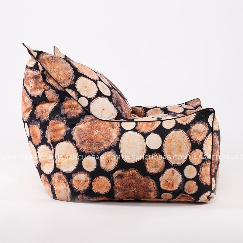 Кресло Трон Wood