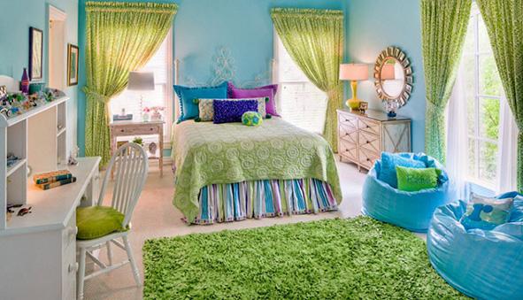 Бескаркасная мебель в детской комнате SanchoBag