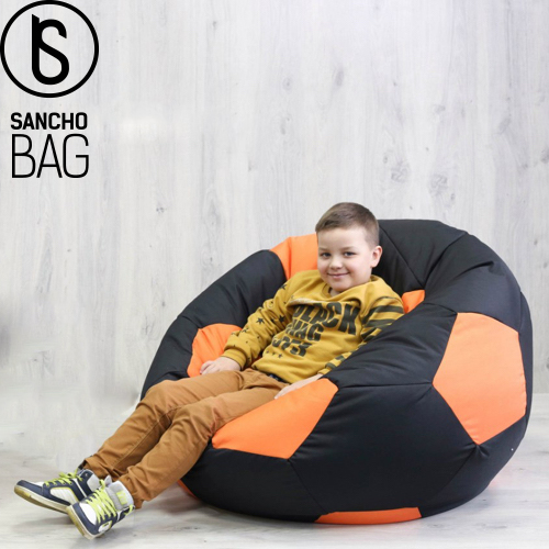 Бескаркасная мебель Кресло  футбольный мяч