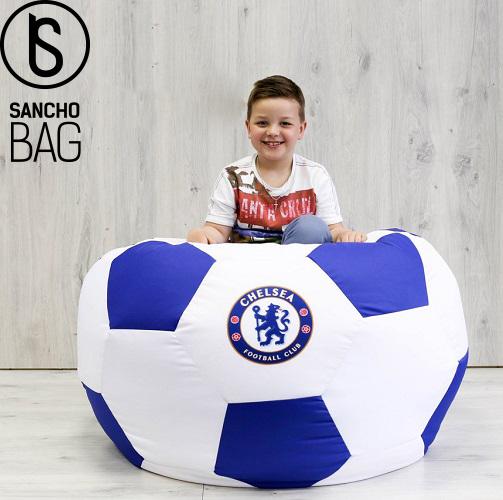 Бескаркасная мебель Кресло мяч с логотипом