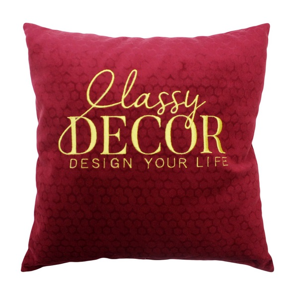Декоротивные подушки с Лого