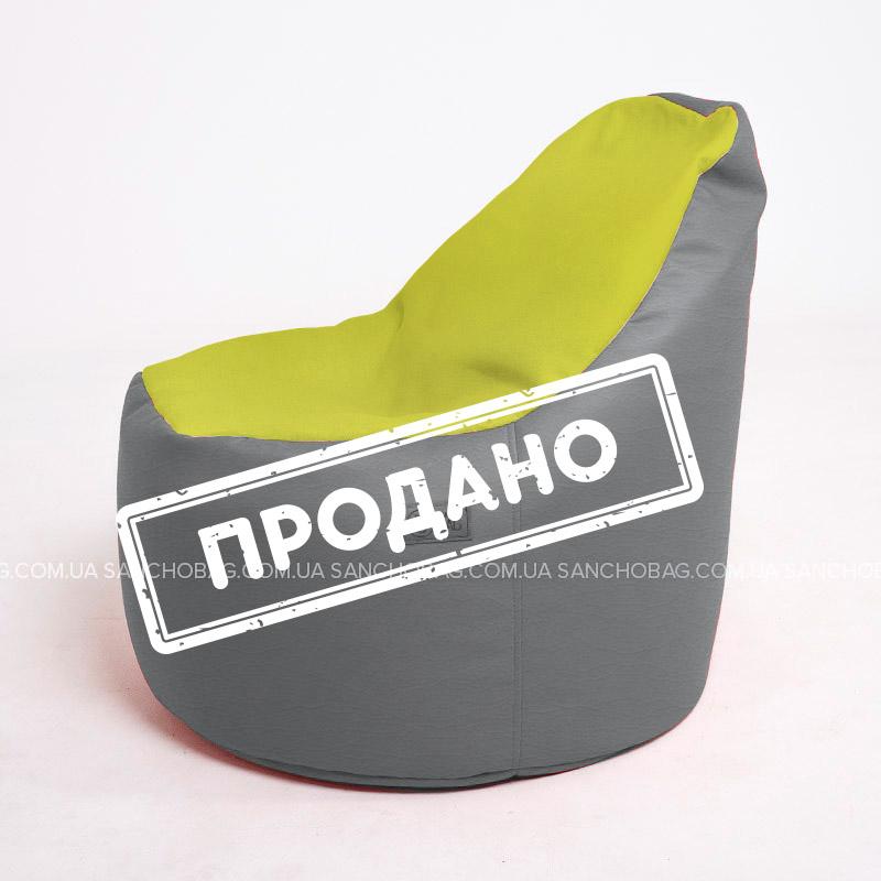 Кресло Пенек Кожзам/Велюр