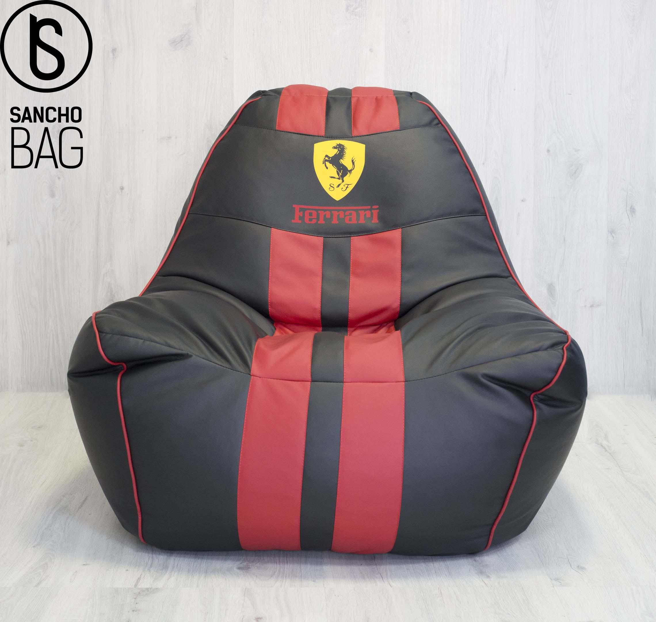Кресло-мешок logo Ferrari